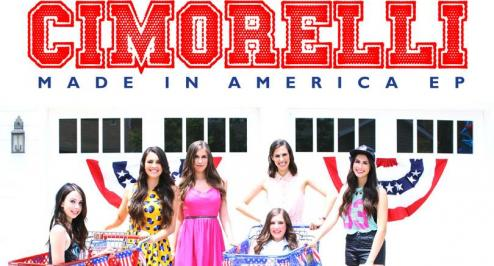 Cimorelli - Made in America EP cover; Photo Universal Music