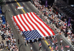2014 4th of July Parade; Photo: Internet