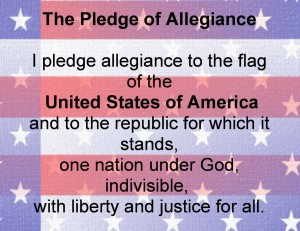 Pledge of Allegiance; Photo: Internet