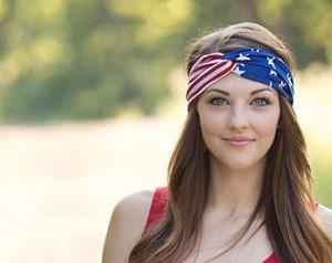 American Flag Turband, Photo: Etsy