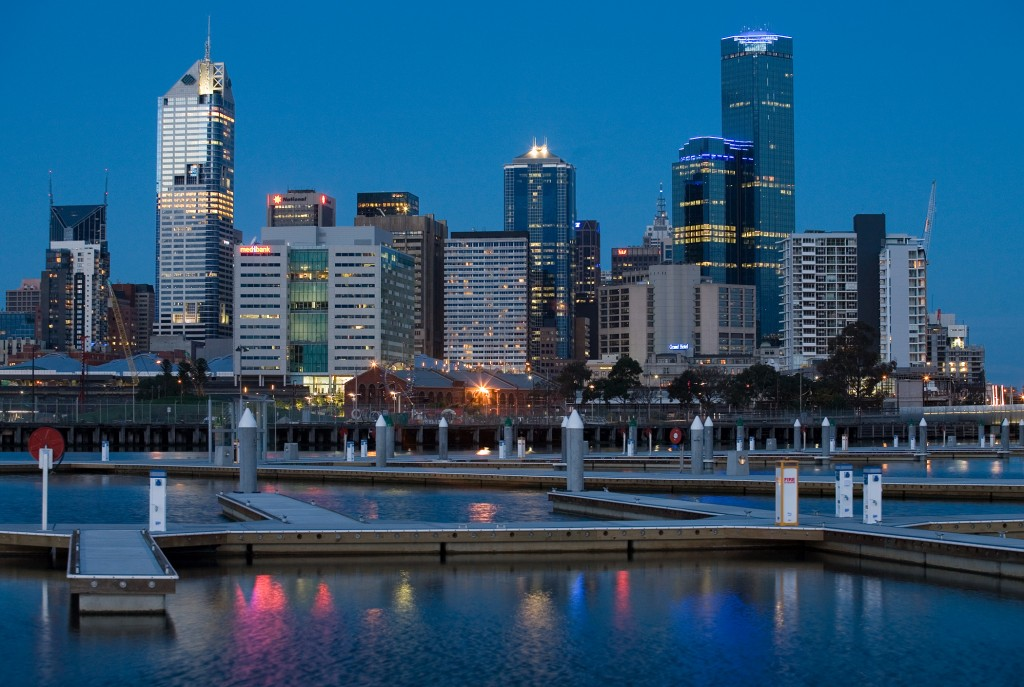 Melbourne_docklands_twilight