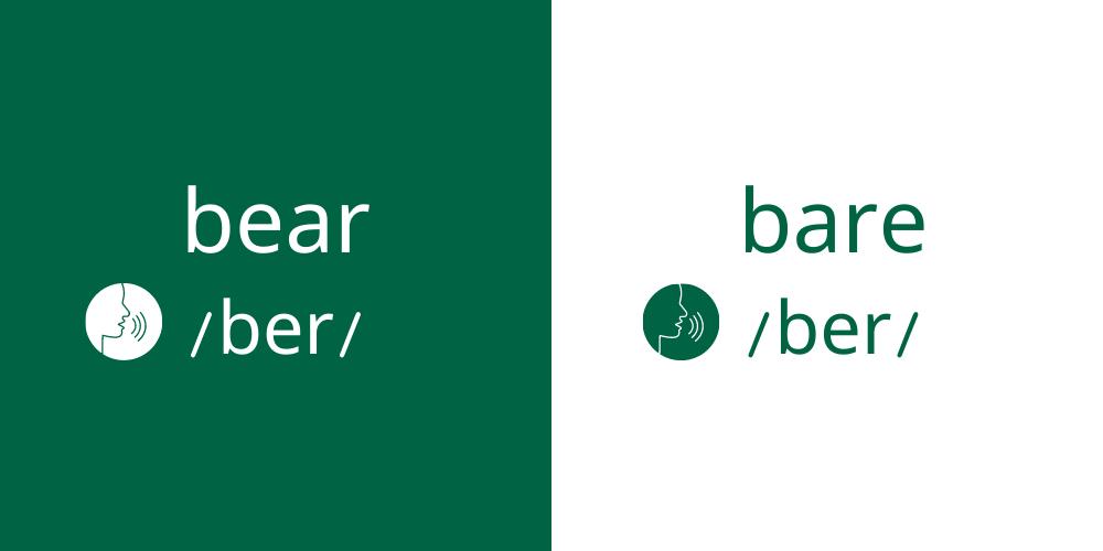 bear bare